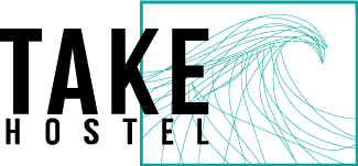 TAKE Hostel Conil Logo